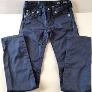 NWOT- Miss Me blue skinny pants.